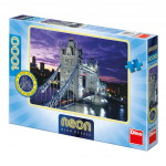 Puzzle Londýn most Tower Bridge svítící ve tmě 66x47cm 1000dílků