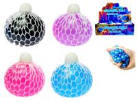 Míček síťkový strečový perleťový 7 cm - mix barev