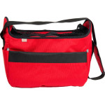 Transp. taška nylon Betty červená 30 cm - do 5 kg