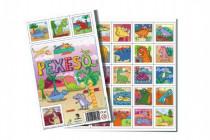 Pexeso Prehistoric JUNIOR společenská hra 32 obrázkových dvojic 26x23cm