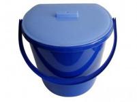 koš odpadkový závěsný 11l plastový - mix barev