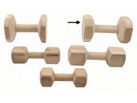 Aport tréninkový dřevo B&F 1 kg