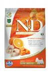 N&D Grain Free Dog Adult Mini Pumpkin Codfish & Orange 7 kg