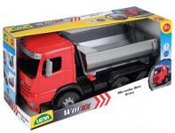 Auto sklápěč Worxx plast 46cm 1:15 v krabici Mercedes Arocs