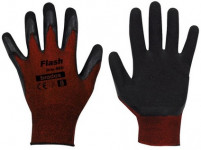 rukavice FLASH GRIP latex 9