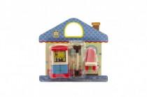 Nábytek pro panenky plast 12cm - mix variant či barev