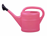 Konev s růžicí plastová růžová 5l