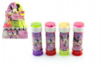 Bublifuk Minnie 60ml 11,5cm - mix barev