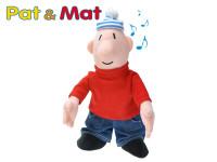 Postavička Mat plyšová 37cm na baterie se zvukem 0m+ v sáčku Pat a Mat