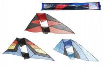 Drak létající nylon 183x81cm - mix barev