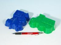 Formičky Bábovky plast 13cm v síťce 12m+ - mix barev