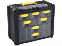 skříňka CARGO 400x200x326mm, 7+1 plastová