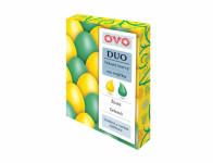 Barva na vajíčka OVO DUO zelená a žlutá 2x20ml - VÝPRODEJ