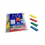 kolíčky na prádlo plastové (50ks) - mix barev