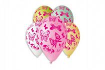 Balonek/Balonky nafukovací motýl 12'' průměr 30cm