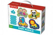 Puzzle baby Fisher-Price zvířátka