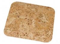 prostírání čtverec 10cm korek (6ks)