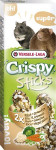 VL Crispy tyč křeček, potkan - rýže, zelenina 2 ks, 110 g - VÝPRODEJ