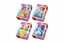 Minipuzzle Princess/Disney 54dílků - mix variant či barev
