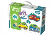 Puzzle baby Dopravní prostředky