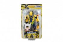 Robot bojovník plast 17cm 5 druhů