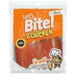 Brit DOG Let´s Bite Fillet o´Chicken 400 g