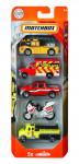 Matchbox 5 ks angličák hasiči - mix variant či barev