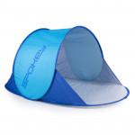 Spokey NIMBUS samorozkládací plážový paravan modrý