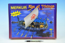 Stavebnice MERKUR Age of Vikings 40 modelů