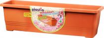 Plastia truhlík samozavlažovací Bergamot - terakota 80 cm