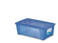 box úložný SCATOLA 5l, 32,5x19x11cm s víkem plastový, MO