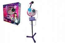 Kidi Superstar růžový mikrofon s efekty 8v1 1,35m plast na baterie