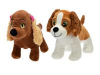 Pes plyšový stojící 25 cm - mix variant či barev