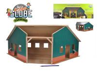 Garáž/farma dřevěná 38x100x38 cm 1:16