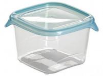 dóza FRESH&GO čtvercová 0,45l plastová