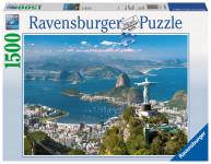 Pohled na Rio 1500 dílků