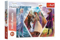 Puzzle Ledové království II/Frozen II 48x34cm 200 dílků