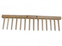 Hřeben hrabí - dřevěné kolíky