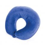Spokey Adder II cestovní polštářek s mikrokuličkami modrý