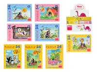 Dino Minipuzzle Krteček 54 dílků - mix variant či barev