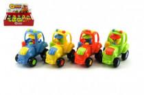 Traktor plast 8cm na setrvačník - mix variant či barev