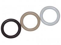 kroužek plastový, BÍ 121.01 (10ks)