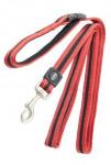 Vodítko BUSTER Airmesh reflexní S/M 180cm/20mm červené