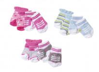 Zapf Creation Baby Born Ponožky (2 páry) - mix variant či barev
