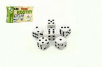 Hrací kostky 13x13mm společenská hra