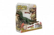 Dinosaurus plast 26cm na baterie se zvukem se světlem 2 druhy