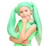 Paruka Lollipopz zelená