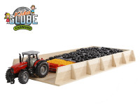 Silo dřevěné 60x30x6 cm 1:32