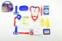 Sada doktor/lékař 16ks plast v plastovém kufříku