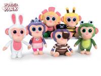 Wonder Park Chimpanzombies zvířátka plyšová 20 cm - mix variant či barev